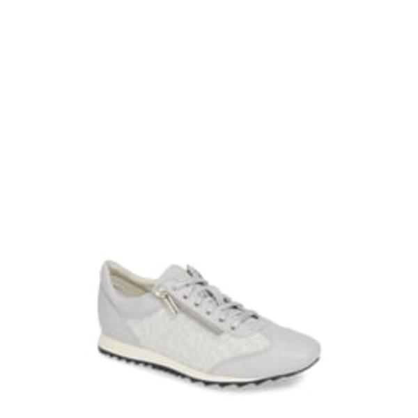 アマルフィーバイランゴーニ レディース スニーカー シューズ Fedro Low Top Sneaker White Leather