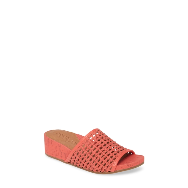 ケネスコール レディース サンダル シューズ Gianna Slide Sandal Bright Pink Leather