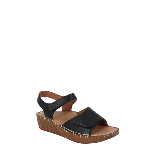 ラモールドピード レディース サンダル シューズ Yahya Platform Sandal Black Lamba Leather