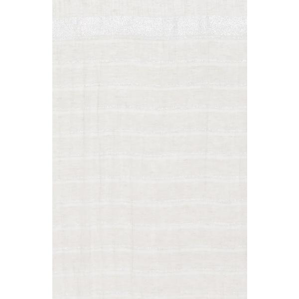 ファビアナ フィリッピ レディース マフラー・ストール・スカーフ アクセサリー Metallic Stripe Scarf Medium Beige