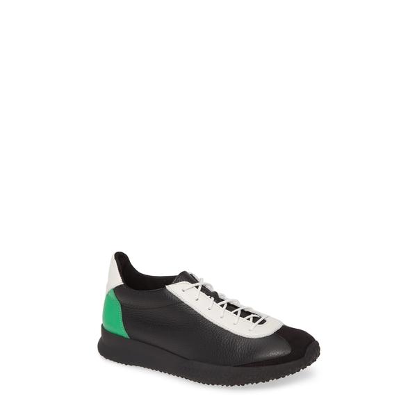 アーク レディース スニーカー シューズ Andala Sneaker Noir/ Blanc/ Pom Leather