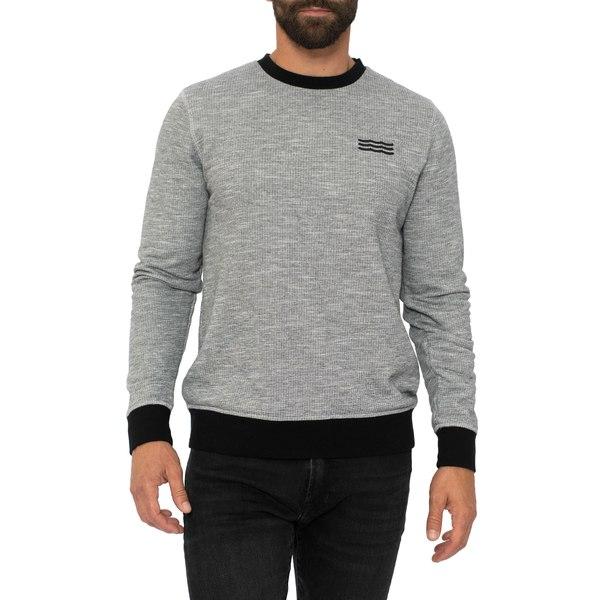 ソルエンジェルス メンズ シャツ トップス Thermal Sweatshirt Black