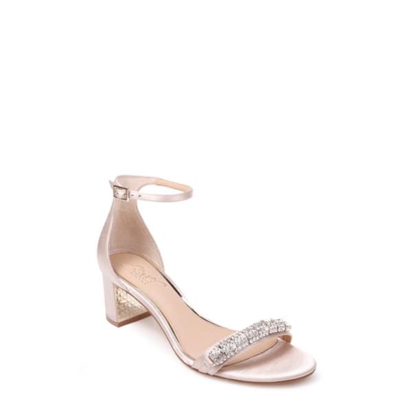 ジュウェルダグレイミシュカ レディース サンダル シューズ Ramsay Ankle Strap Sandal Champagne Satin
