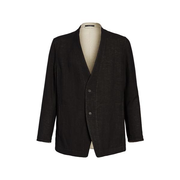 イッセイミヤケ メンズ ジャケット&ブルゾン アウター Men Reversible Jacket Black