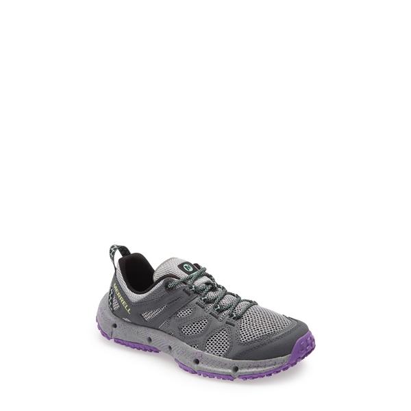 メレル レディース スニーカー シューズ Hydrotrekker Trail Sneaker Grey Fabric