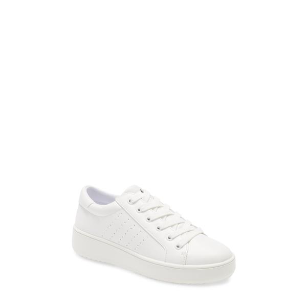 スティーブ マデン レディース スニーカー シューズ Blade Platform Sneaker White