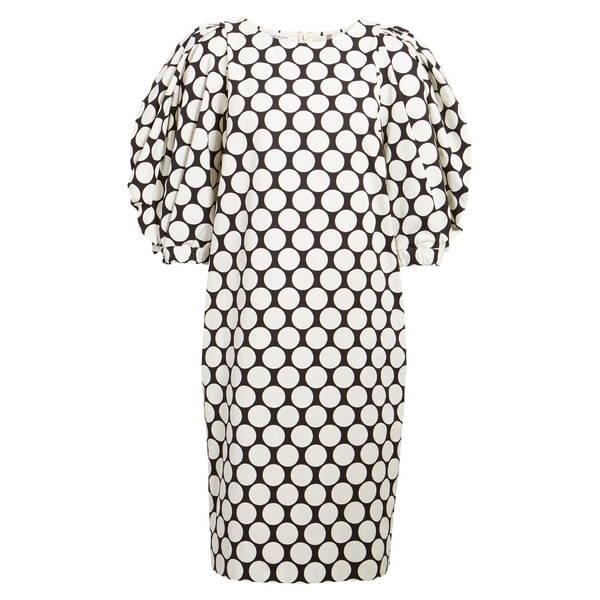 ドリス・ヴァン・ノッテン レディース ワンピース トップス Dali Dot Balloon Sleeve Cotton Shift Dress White