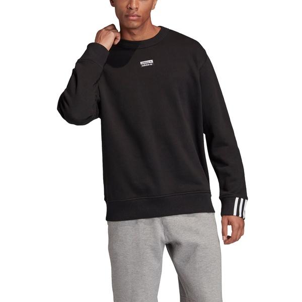 アディダスオリジナルス メンズ シャツ トップス Crewneck Sweatshirt Black