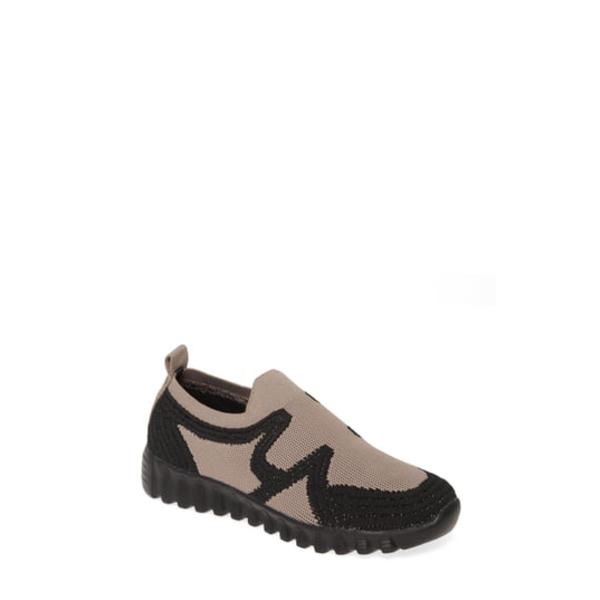バーニーメブ レディース スニーカー シューズ Nadin Slip-On Sneaker Smoke/ Black Fabric