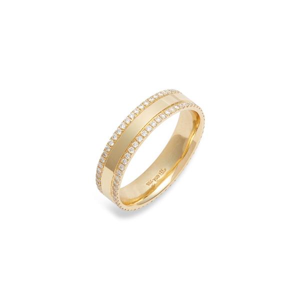 ボニー レヴィ レディース リング アクセサリー Kiera 18K Gold & Diamond Eternity Ring Yellow Gold/ Diamond