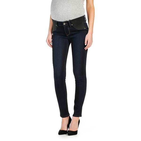 ペイジ レディース デニムパンツ ボトムス Transcend - Verdugo Ankle Skinny Maternity Jeans Mona