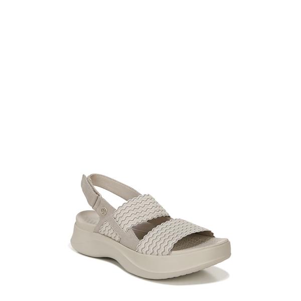 ビジーズ レディース サンダル シューズ Plush Sandal Simply Taupe Fabric