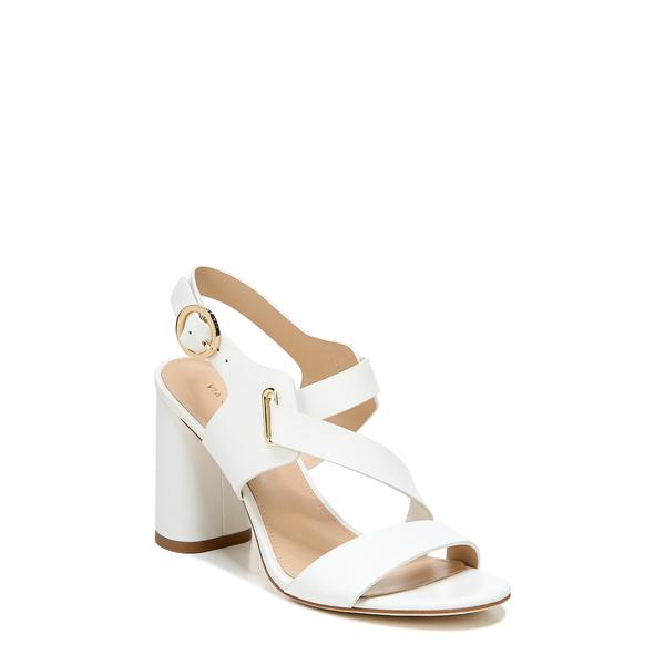 ヴィアスピガ レディース サンダル シューズ Hyria Sandal Blanc Leather