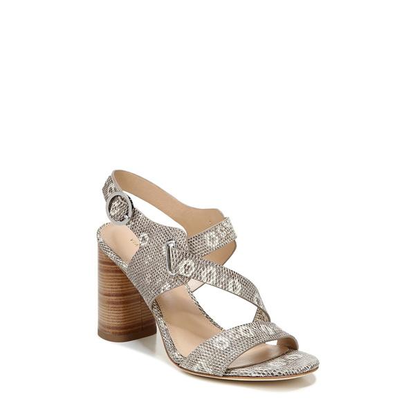 ヴィアスピガ レディース サンダル シューズ Hyria Sandal Blanc Lizard Print Leather