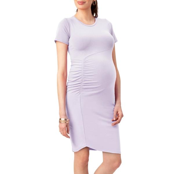 ストゥアウェイ・スウィーツ レディース ワンピース トップス Uptown Maternity Dress Lavender