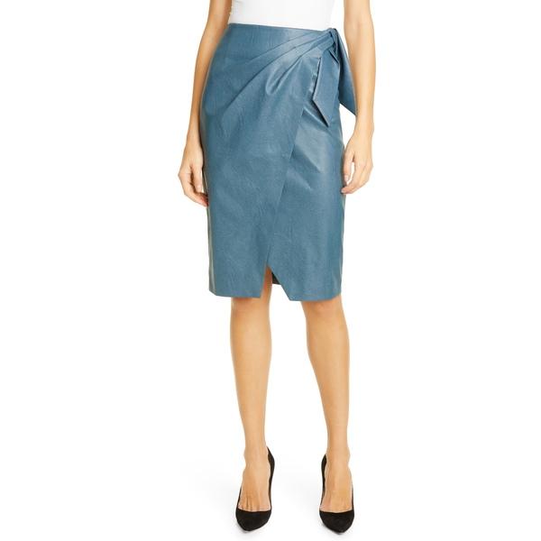 レベッカテイラー レディース スカート ボトムス Faux Leather Skirt Wave