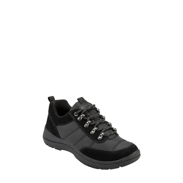 イヴァルヴ レディース スニーカー シューズ Froze Lace-Up Sneaker Black Suede