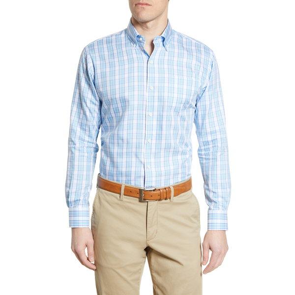 ピーター・ミラー メンズ シャツ トップス Orson Plaid Button-Down Shirt Skylight