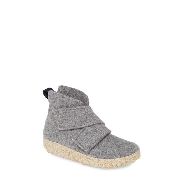 エーエスポルトゥゲーズ バイ フライ ロンドン レディース ブーツ&レインブーツ シューズ Case Bootie Concrete Tweed Fabric
