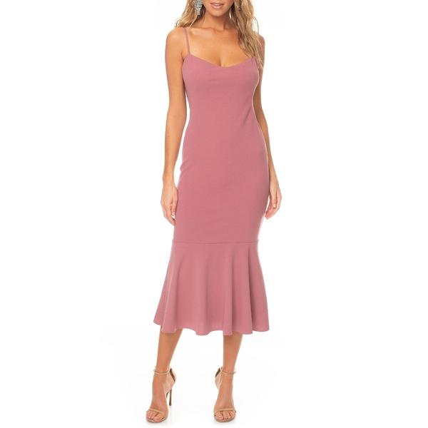 ケーティメイ レディース ワンピース トップス Twirl Sleeveless Drape Back Dress Mulberry