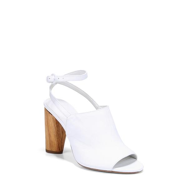 ヴィンス レディース サンダル シューズ Palero Block Heel Sandal White