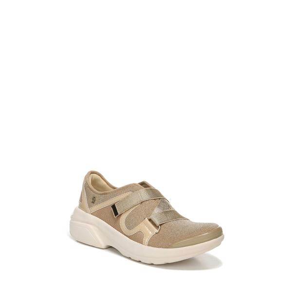 ビジーズ レディース スニーカー シューズ Offbeat Slip-On Sneaker Beige Fabric
