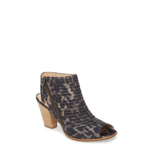 ポール・グリーン レディース サンダル シューズ 'Cayanne' Leather Peep Toe Sandal Winter Leopard