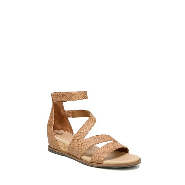 ドクター・ショール レディース サンダル シューズ Freedom Wedge Sandal Honey Faux Leather