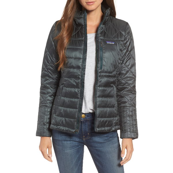 パタゴニア レディース ジャケット&ブルゾン アウター Radalie Water Repellent Thermogreen-Insulated Jacket Forge Grey