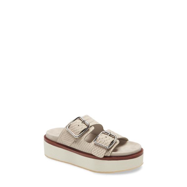 ジェースライズ レディース サンダル シューズ Bowie Platform Slide Sandal Grey Emboss Grey Emboss