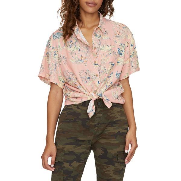 サンクチュアリー レディース シャツ トップス Resort Button-Up Shirt Beach Babe