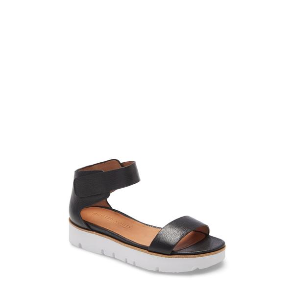 ケネスコール レディース サンダル シューズ Lavern Platform Sandal Black Leather