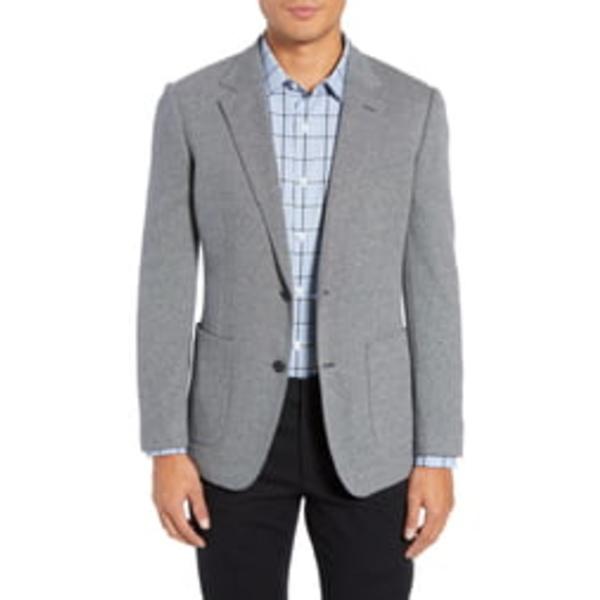 ボノボス メンズ ジャケット&ブルゾン アウター Jetsetter Slim Fit Knit Cotton Sport Coat Medium Grey