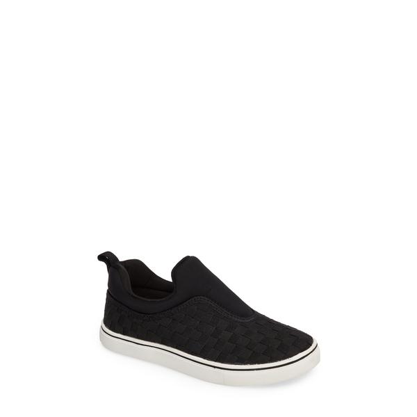 バーニーメブ レディース スニーカー シューズ Bernie Mev Joan Slip-On Sneaker Black/ Black Fabric
