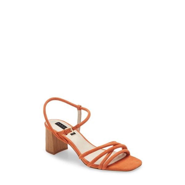 サンクチュアリー レディース サンダル シューズ Break Strappy Sandal Tangerine Leather