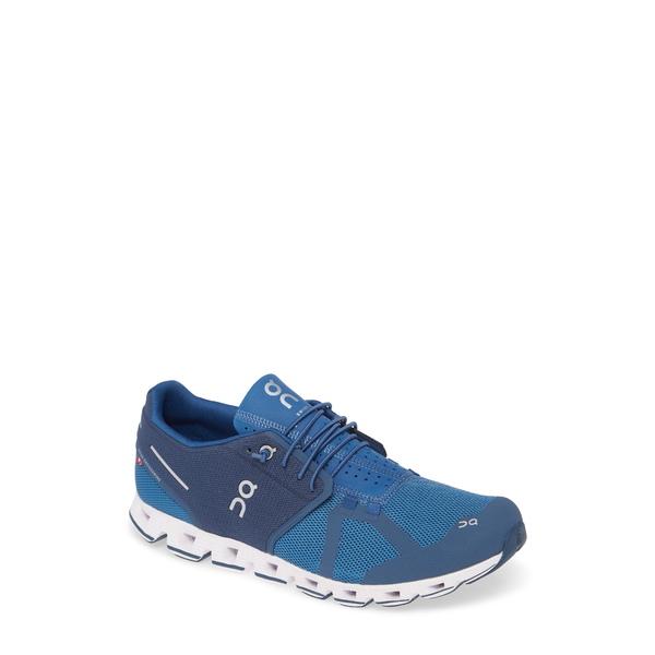 オン メンズ スニーカー シューズ Cloud Running Shoe Blue/ Denim