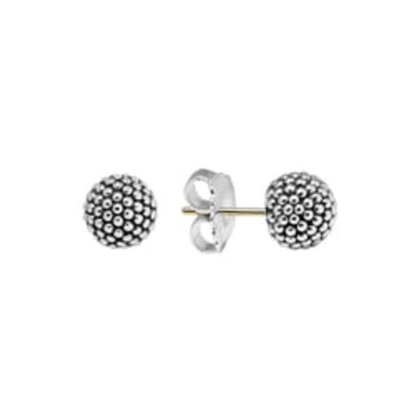 ラゴス レディース ピアス&イヤリング アクセサリー 'Columbus Circle' Ball Stud Earrings Sterling Silver