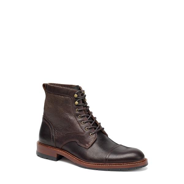 トラスク メンズ ブーツ&レインブーツ シューズ Lawrence Cap Toe Boot Espresso