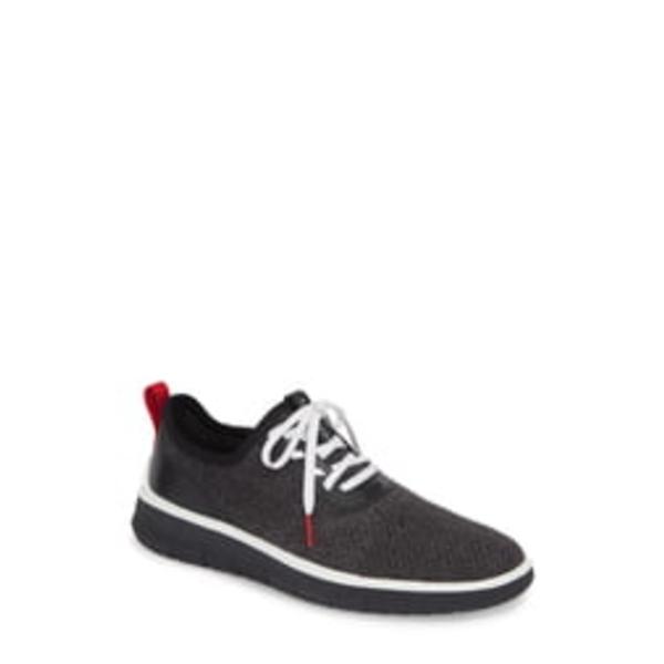コールハーン メンズ スニーカー シューズ Generation ZeroGrand Stitchlite Sneaker Black/ Gray/ Barbados