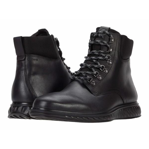 エコー メンズ ブーツ&レインブーツ シューズ ST.1 Hybrid Lite GORE-TEX Boot Black/Black
