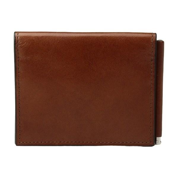 ボスカ メンズ 財布 アクセサリー Old Leather Collection - Money Clip w/ Pocket Amber