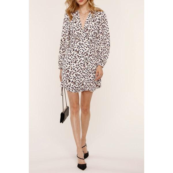 ハートルーム レディース 発売モデル トップス ワンピース LEOPARD 購入 全商品無料サイズ交換 Mini Print Emmy Dress Leopard
