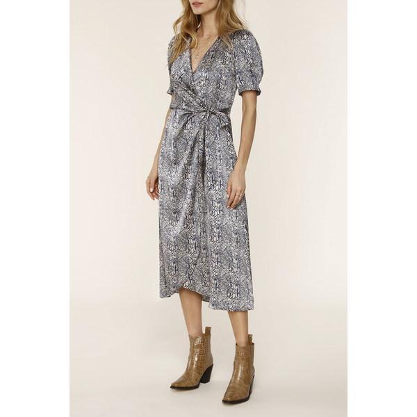 ハートルーム レディース トップス ワンピース VIPER 全商品無料サイズ交換 Midi 25%OFF Dress メーカー公式 Snakeskin Joanie Print