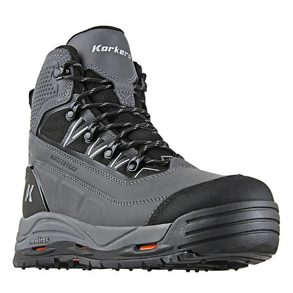 コーカーズ メンズ ブーツ&レインブーツ シューズ Korkers Men's Verglas Ridge Boot GREY