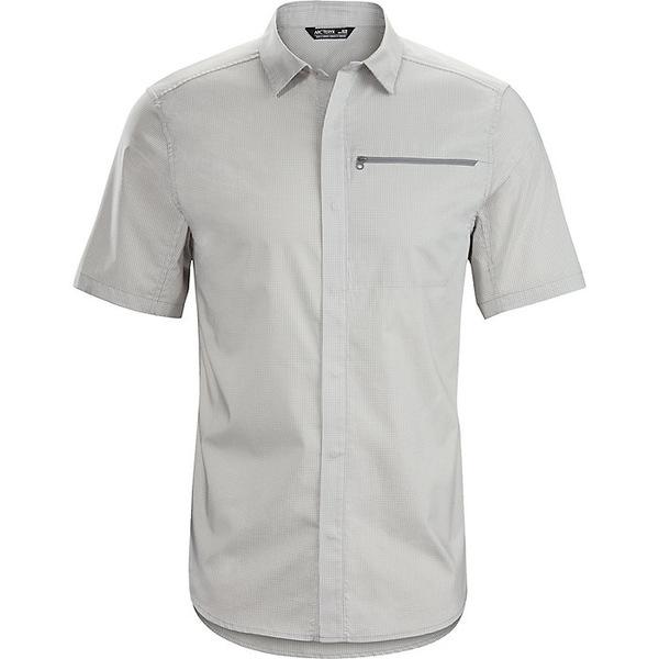 アークテリクス メンズ シャツ トップス Arcteryx Men's Kaslo SS Shirt Delos Grey