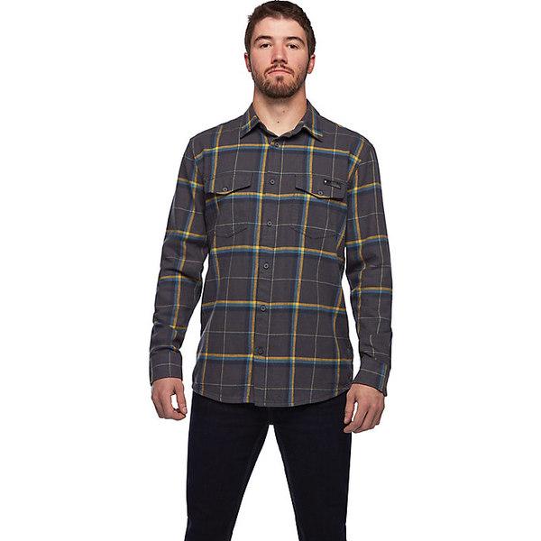 ブラックダイヤモンド メンズ シャツ トップス Black Diamond Men's Valley LS Flannel Shirt Carbon / Astral Blue Plaid