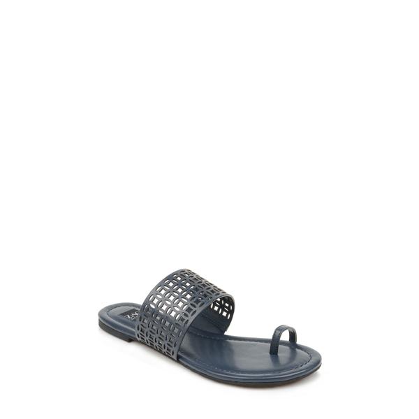 ザックポーゼン レディース サンダル シューズ Varana Toe Loop Sandal Navy Leather