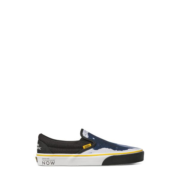 バンズ メンズ サンダル シューズ x National Geographic Classic Slip-On Sneaker Then/ Now Glacier