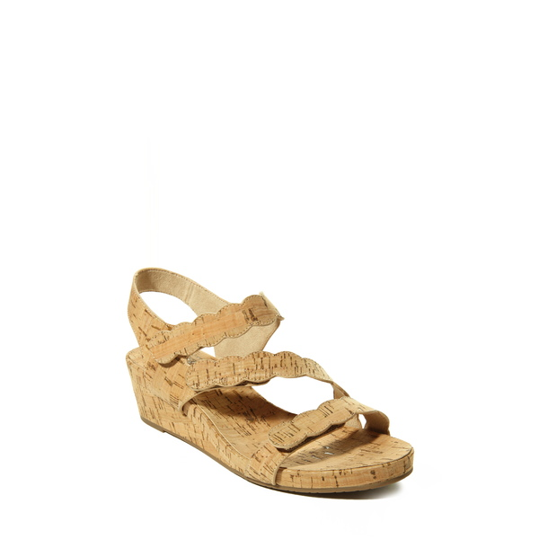 ベネリ レディース サンダル シューズ Kabie Platform Wedge Sandal Natural Cork Fabric