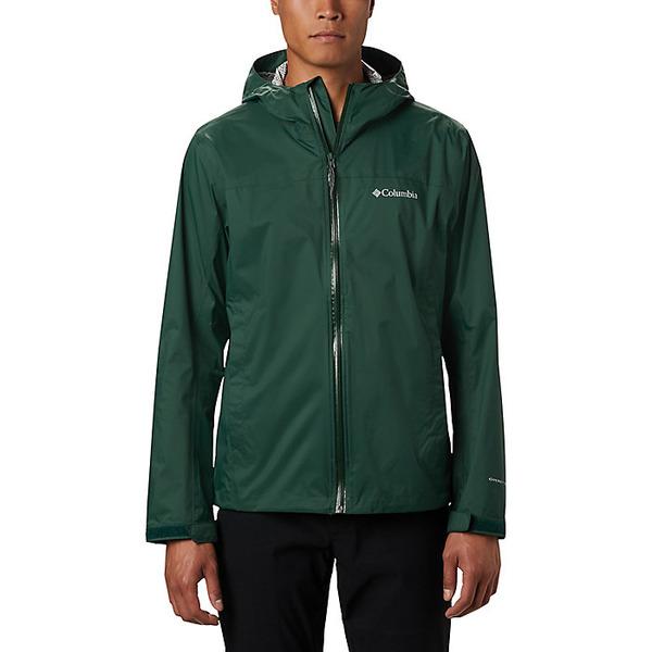 コロンビア メンズ ジャケット&ブルゾン アウター Columbia Men's EvaPOURation Jacket Rain Forest